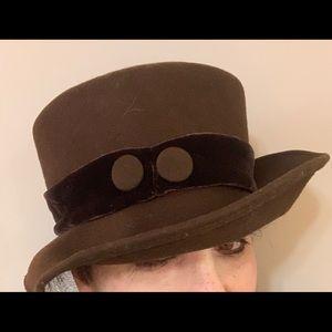 Vintage Brown Betmar Hat
